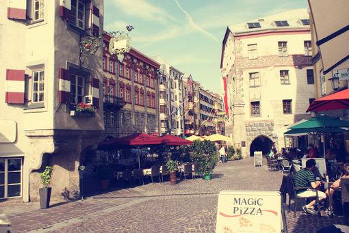 QQ空间唯美街景图片 繁华的都市图片