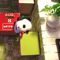 可爱萌熊猫头像大全 傻乎乎简简单单 好哦好高清图片