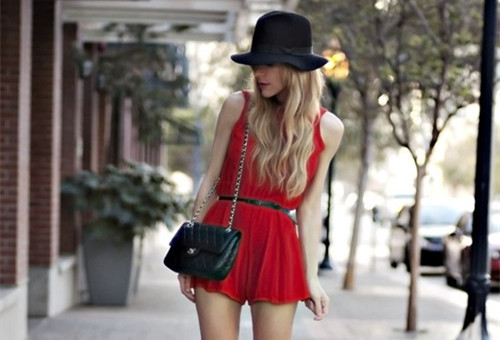 欧美女生街拍图片 时尚欧美风图片