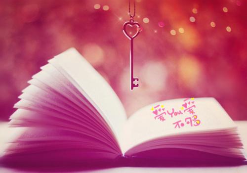 多彩书本唯美背景 各种颜色的意境